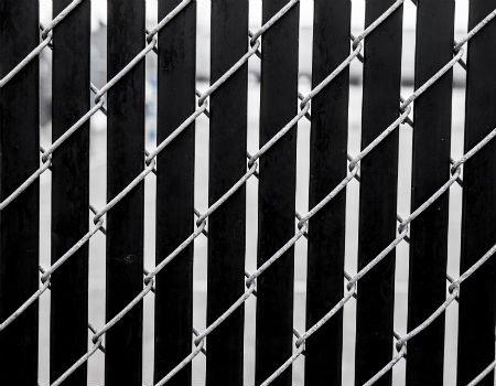 chain-link-fence-with-blacks-slats-450x350